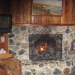 Great fire place