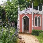 pink summer house