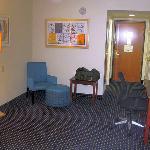 Poorly designed spacious empty room