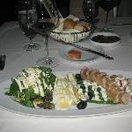 Artful presentation of my Salad Nicoise