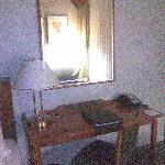 Zimmer Schreibtischbereich
