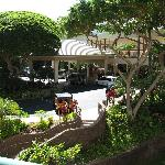 View of the front entrance from Napili Towers