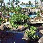 Main pool area of resort