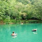 Swimming hole at Utopia