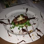 Chile Chocolate Sirloin appetizer