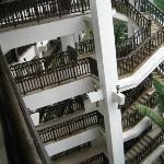 Nexus Resort from top floor