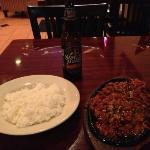 Good but spicy Korean pork