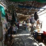 Some of the beach shops on Sanur beach, your lucky if you can get through without buying somethi