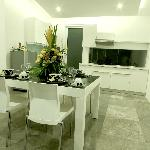 Dining/kitchen 2 bedroom apartment