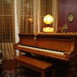 The Parlor's 1880 Grand Piano