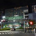 Night View of the Hotel Granvia Kyoto