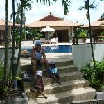 Pool and Villas