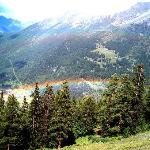 arcobaleno dalla seggiovia Bosco Express