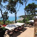 Terraza bar con vistas