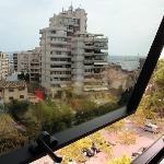 vue de la chambre 701 au 7 ème étage