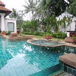 Whirl-Pool im Außenbereich
