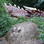 Don't disturb the sleeping dragon