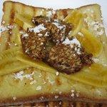 Banana butter sugar waffle- Yummy!!