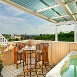 View from the Penthouse Private Deck with Private Hot Tub