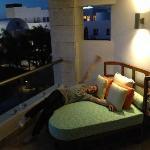 Balcony bed