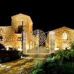 Veduta sul Borgo illuminato