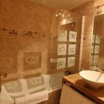 salle de bains chambre 18