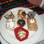 food was amazing (pastries)