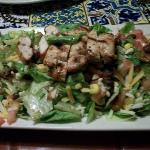 Grilled Chicken Caribbean Salad