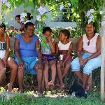 Local women near Playa Maguana, Baracoa area, Cuba.