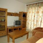 Wohnbereich mit Kabel TV