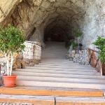 il tunnel di roccia