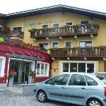 Gasthof Lampenhausl, Fusch, wejście