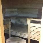 Sauna! Lovely!