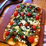 Goat Cheese Flat bread