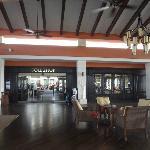 inside golf lobby