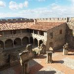 Castillo de la Adrada (interior)