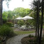 Gardence/entrance