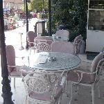 small coffee corner