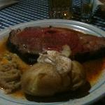 prme rib dinner!