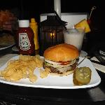 Delish Burger at Beach Bar