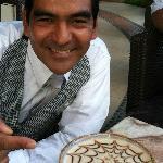 Lobby Bartender Juan Ortega Robles w/Chocolate Martini