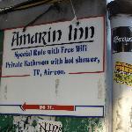 sign, Amarin Inn