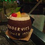 Cocktail at Trader Vic's lounge