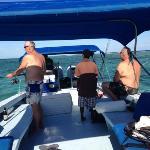 Fishing off Ambergris Caye