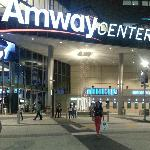 Fachada linda da Arena...