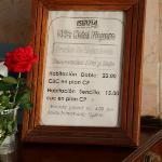 Prices. Hotel Niquero, Niquero, Granma, Cuba.