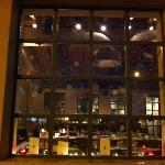 christmas window view at prosopa