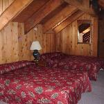 Loft Room at The Viking Lodge Alpine Suite
