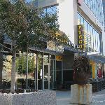 Restaurants-northeast corner on 1st St.