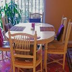Enjoy a warm home cooked meal in our fully equipped kitchen and dining area